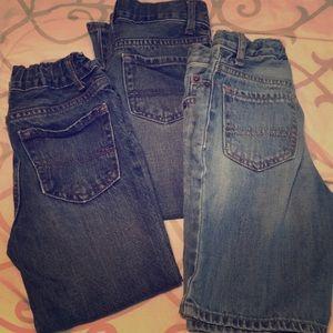 3 bundle piece🎉 children's place jean/short